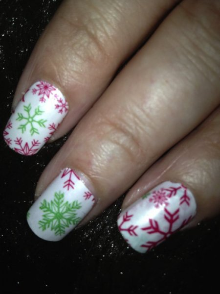 Its Just Another Mani Monday - Holiday #3
