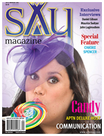 On the cover of SAY Magazine