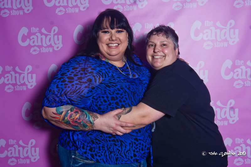 Candy Palmater and Denise Tompkins