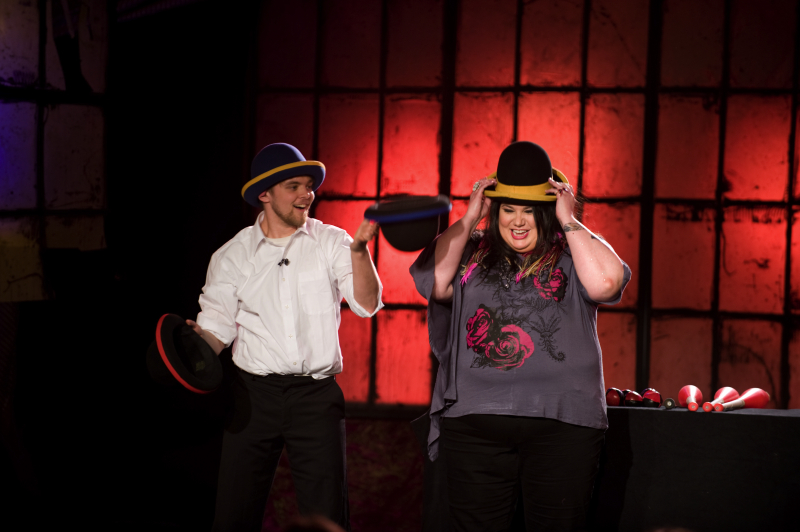 Halifax Circus - jugglers w/ Candy Palmater
