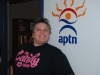 Candy's Manager at APTN office in Montreal