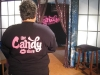 Candy\'s Manager on set