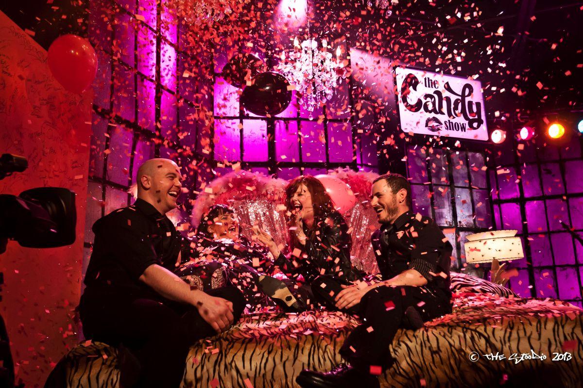 Candy surprises Carmen Townsend on set in Season 4