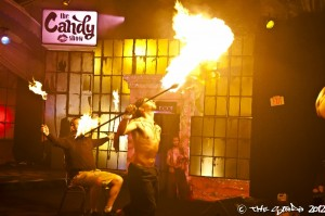 Kyle Scott  fire performer