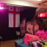 Part of Candys private dressng room