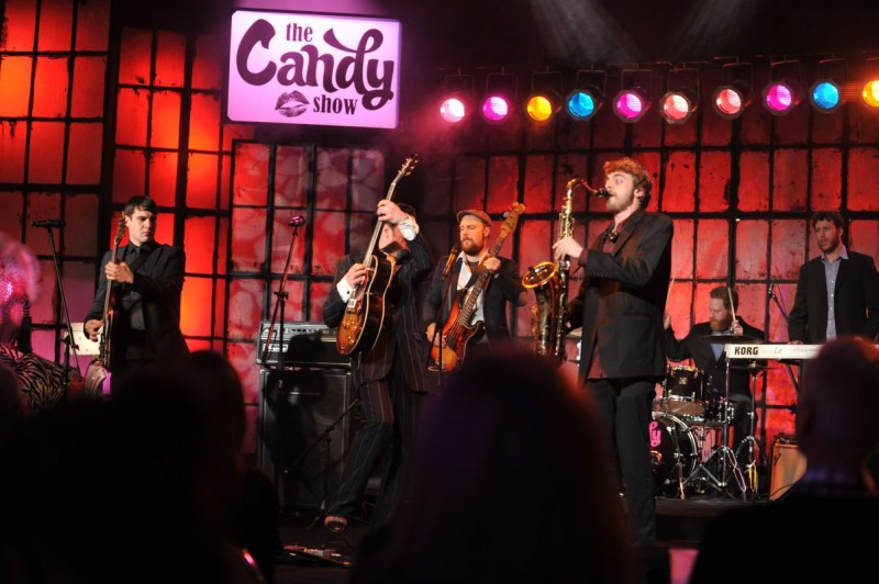 Chris Martin & The Trouble Shooters on Season 4 Ep. of The Candy Show