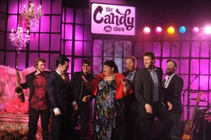 Candy with musical guest: Chris Martin and The Trouble Shooters