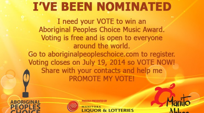 We Need your Vote – APCMA Open until July 19