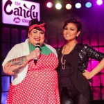 Candy Palmater and Inez Jasper