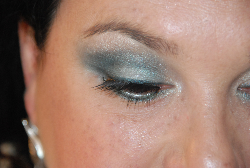 Photo shoot - Dior Green 5 all in one Palette