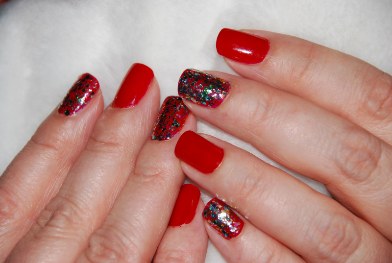 Its Just Another Mani Monday - Holiday #1