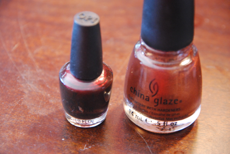 China Glaze & OPI polishes