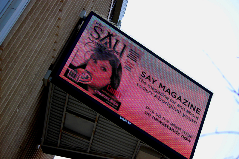 Candy Palmater on APTN Marquee, SAY Magazine
