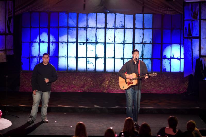 Brandon Johnson & Blake Francis