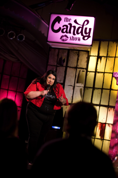 Comedic TV Host: Candy Palmater