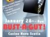 Bust-A Gut poster for fundraiser event