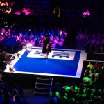 Candy Palmater speaking to 8000 students at Halifax Metro Centre centre stage at WeDay 2013