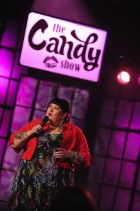 Candy performing on Season 4 The Candy Show