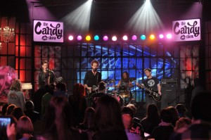 Gloryhound performing on The Candy Show - Canadian Rock Band