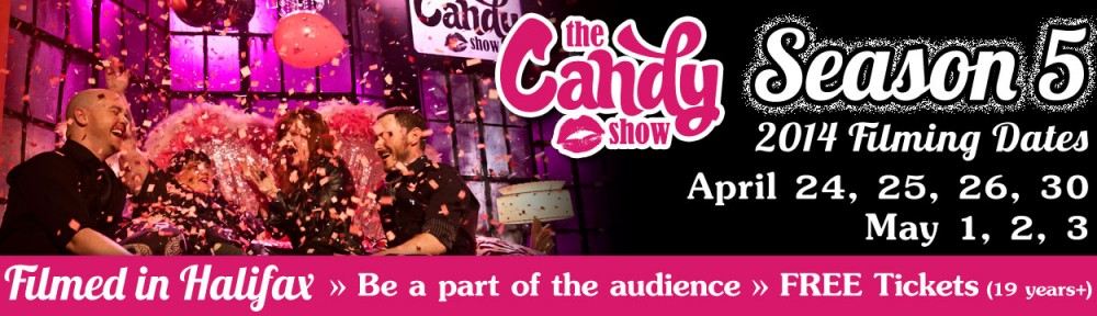 HALIFAX filming of The Candy Show S5 – Be a part of National TV audience