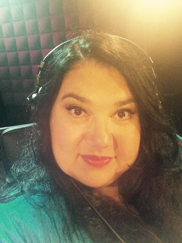 Candy Palmater selfie before the live show on Monday August 17th/ 2015